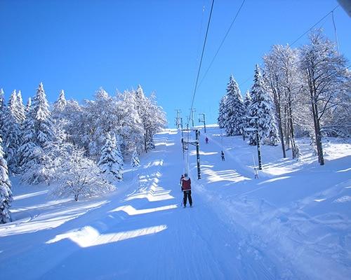 Location de gîte Lac Saint Point : à découvrir dans la région la station de ski de Métabief